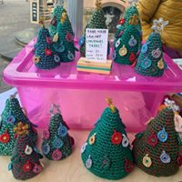 Saffron_Wholefoods_Joeys_crochet_xmas_trees